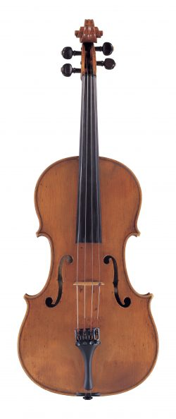 front of a viola by Andrea Amati, Cremona, c1570