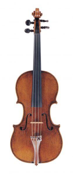 Front of a violin by Andrea Guarneri, Cremona, c1695