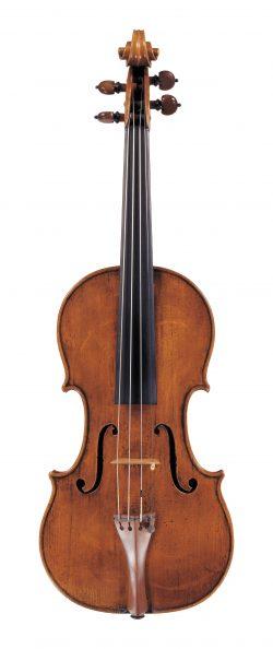 front of a violin by Antonio Stradivari, Cremona, 1667, Ex-Jenkins