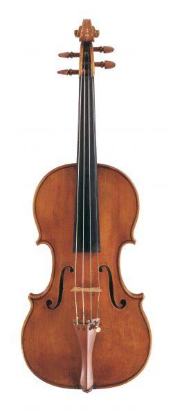 front of a violin by Antonio, Stradivari, Cremona, 1699, Lady Tennant