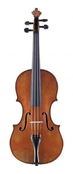 front of a violin by Antonio Zanotti, c1720