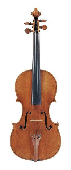 front of a violin Carlo Tononi, Venice, 1725
