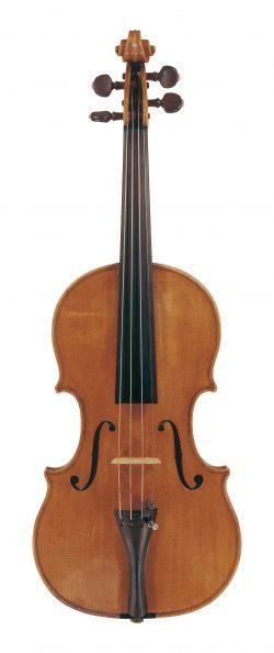 Front of a violin by Ferdinando Gagliano, Naples, 1784