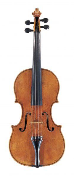 Front of a violin by Francesco Rugeri, Cremona, circa 1680