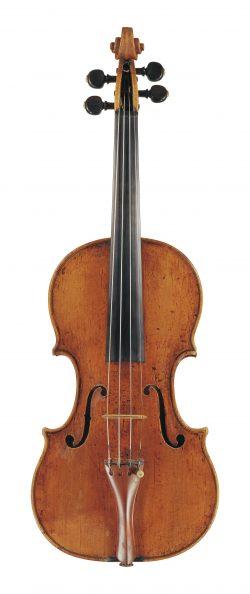 Front of a violin by Gioffredo Cappa, Saluzzo, circa 1690