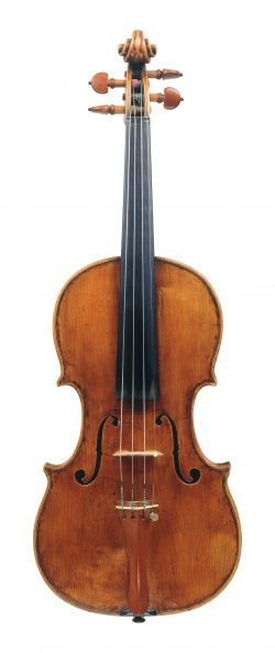 Front of a violin by Giovanni Battista Ceruti, Cremona, circa 1805