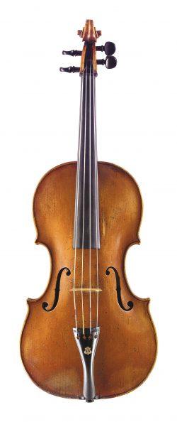 Front of a viola by Giovanni Battista Gabrielli, Florence, 1763