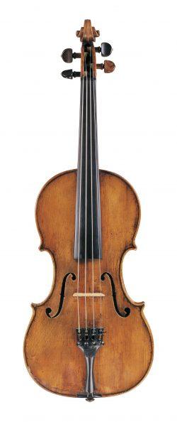Front of a violin by Giovanni Francesco Celoniato, Turin, 1722