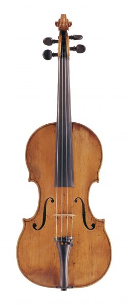 Front of a violin by Giovanni Grancino, Milan, circa 1700