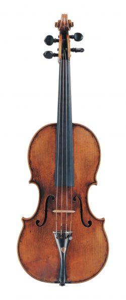 Front of a violin by Giovanni Maria del Bussetto, Cremona, circa 1680, ex-Menuhin