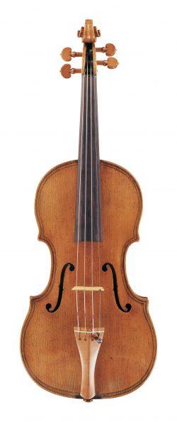 Front of a violin by Giovanni Paolo Maggini, Brescia, undated