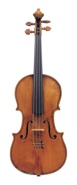 Front of a violin by Giovanni Rota, Cremona, circa 1800