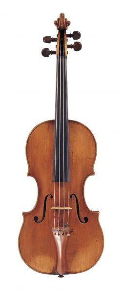 Front of a violin by Giovanni Tononi, Bologna, 1704