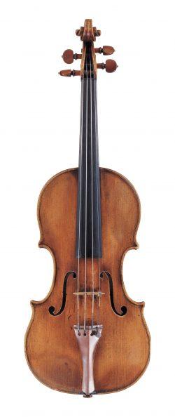 Front of a violin by Giovanni Tononi, Bologna, circa 1690