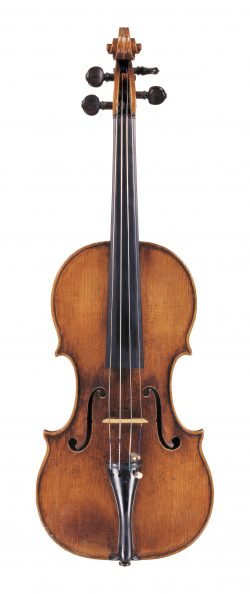 Front of a violin by Antonio & Girolamo Amati, Cremona, circa 1620