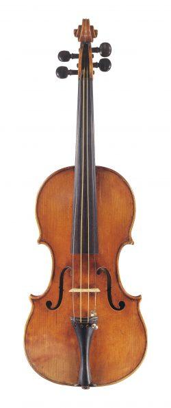 Front of a violin by Antonio & Girolamo Amati, Cremona, circa 1625