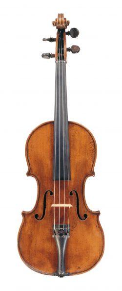 Front of a violin by Giuseppe & Antonio Gagliano, Naples, circa 1800