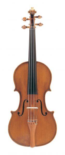Front of a violin by Giuseppe & Antonio Gagliano, Naples, circa 1805