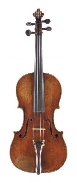 Front of a violin by Giuseppe Ceruti, Cremona, circa 1820