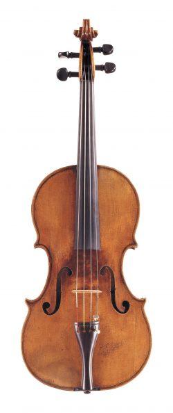 Front of a viola by Giuseppe dall'Aglio, Mantua, circa 1820