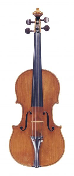 Front of a violin by Giuseppe Gagliano, Naples, circa 1780