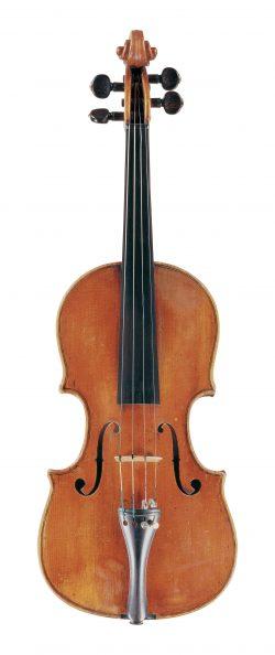 Front of a violin by Giuseppe Guadagnini, Pavia, circa 1780