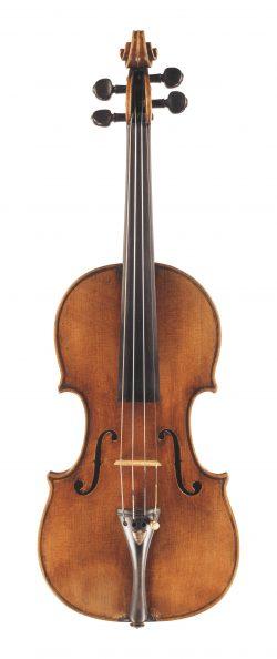 Front of a violin by Giuseppe Guarneri filius Andreae, Cremona, circa 1705