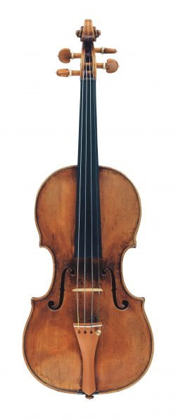 Front of a violin by Jacob Stainer, Absam, circa 1670