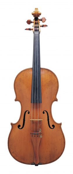 Front of a viola by Lorenzo & Tomaso Carcassi, Florence, circa 1770