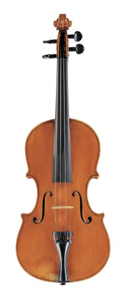 Front of a violin by Lorenzo Ventapane, Naples, circa 1810