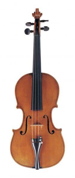Front of a violin by Lorenzo Ventapane, Naples, circa 1820