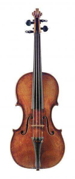Front of a violin by Nicola Marchioni, Bologna, circa 1720