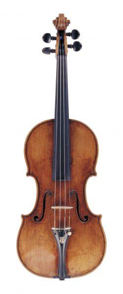 Front of a violin by Nicola Marchioni, Bologna, circa 1730