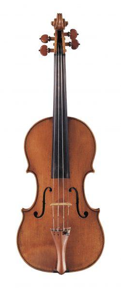 Front of a violin by Nicolo Amati, Cremona, 1680
