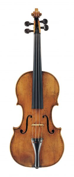 Front of a violin by Nicolo Amati, Cremona, circa 1635