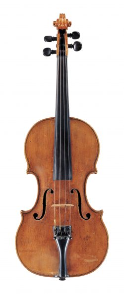 Front of a violin by Nicolo Amati, Cremona, circa 1640
