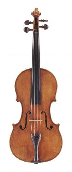 Front of a violin by Nicolo Amati, Cremona, circa 1645