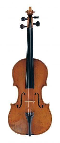 Front of a violin by Nicolo Gagliano, Naples, 1780
