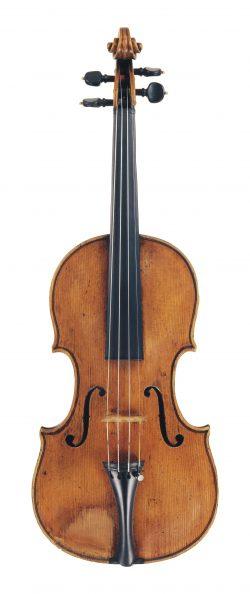Front of a violin by Paolo Castello, Genoa, circa 1765