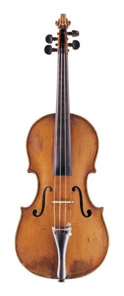 Front of a violin by Paolo Castello, Genoa, circa 1770