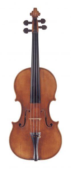 Front of a violin by Santo Serafin, Venice, circa 1735