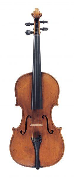 Front of a violin by Stefano Scarampella, Mantua, circa 1905