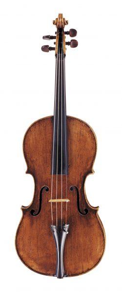 Front of a viola by Giovanni & Francesco Grancino, Milan, 1692