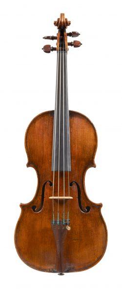 Front of a violin by Andrea Guarneri, Cremona, circa 1665, ex-Liebenthal