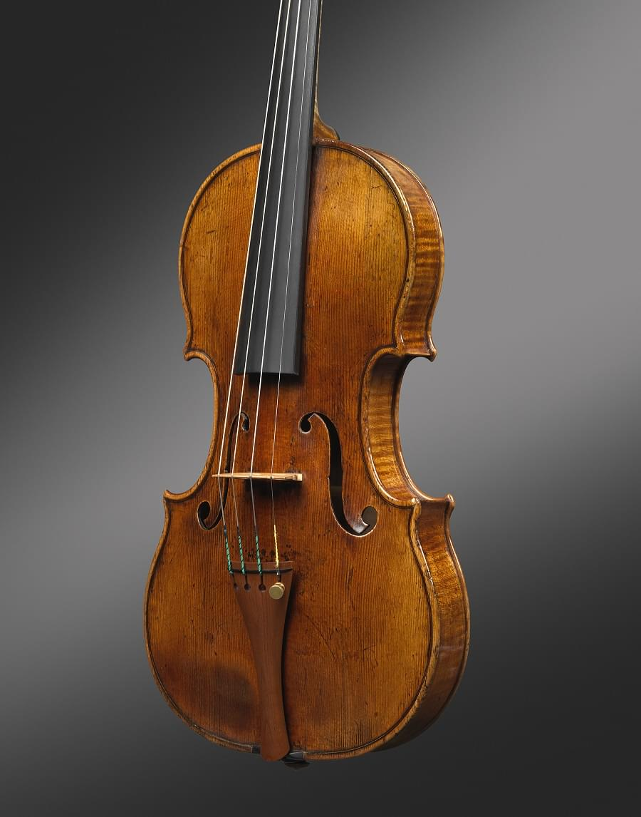 Front of the Ex-Croall; McEwen Stradivari violin, 1684