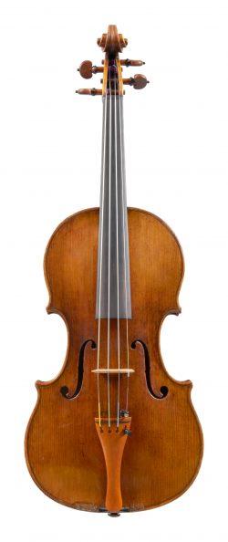 Front of a violin by Nicolo Amati, Cremona, 1658