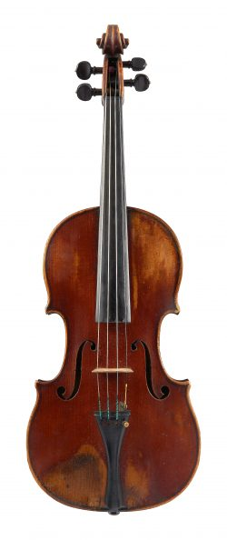 Front of a violin by Charles Adolphe Maucotel, Paris, circa 1840