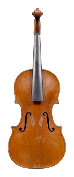 Front of an immaculately preserved violin by Ferdinando Gagliano, Naples, 1789