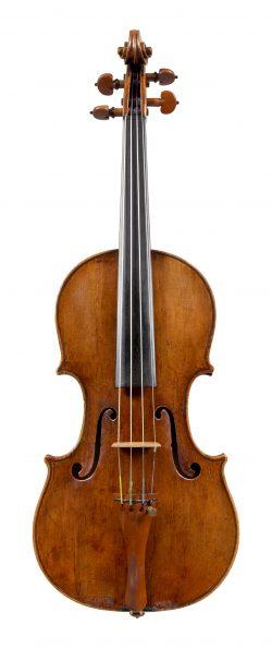 Front of a violin by Giofreddo Cappa, Saluzzo, circa 1710