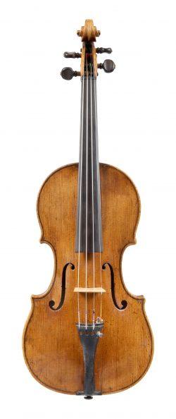 Front of a violin by Giovanni Grancino, Milan, c1700, Ex-Bagdasarjanz